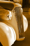 grade velha da antiguidade do carro Fotografia de Stock