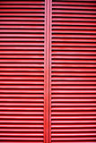 Grade vermelha Imagens de Stock