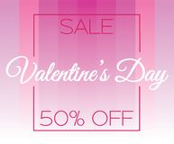 Graded valentines day vector stock illustration