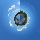 360 grader Royaltyfri Bild