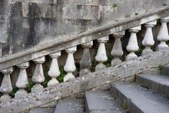 grader av den gamla trappuppgången Fotografering för Bildbyråer