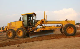 Grader busy working Royalty Free Stock Photos