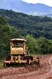 Grader - Heavy Equipment Royalty Free Stock Photography