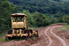 Grader - Heavy Equipment Royalty Free Stock Images