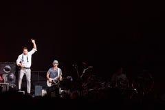 98 grader konsert i Montreal Royaltyfri Fotografi
