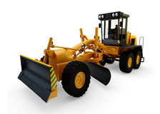 Grader machine Stock Images
