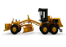 Grader machine isolated Stock Photography