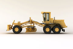 Grader in the studio Royalty Free Stock Image