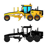 Grader, vector illustration Royalty Free Stock Photography
