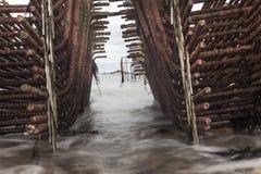 Grades da pesca Fotografia de Stock