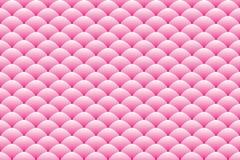 Gradiënt roze ovaal gestapeld patroon royalty-vrije stock afbeeldingen
