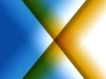 Gradiënt X royalty-vrije illustratie