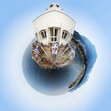 360 gradi Fotografia Stock Libera da Diritti