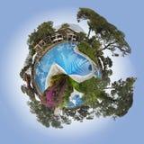 360 gradi Fotografie Stock