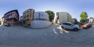 360 gradi di panorama del san Konstantin ed Elena quadrano in OLP Immagini Stock