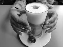 Gradico il caffè fotografia stock