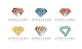 GRADIEN JEWELERY / JEWEL SET 1 LOGO DESIGN Stock Photography