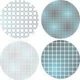 Gradientów kwadratów wzór Zdjęcie Stock