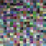 Gradient rectangle background - modern mosaic vector design from multicolored rectangles Royalty Free Stock Image