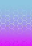 gradient abstrakcjonistyczne błękitny menchie Obraz Royalty Free