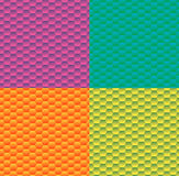 Gradient background with pattern hexagon. Stock Images