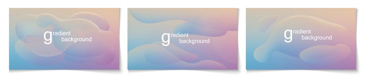 Gradient background 125 stock illustration