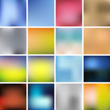 Gradient Background Set Royalty Free Stock Photos