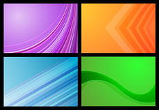 Gradient backgrounds Royalty Free Stock Photos