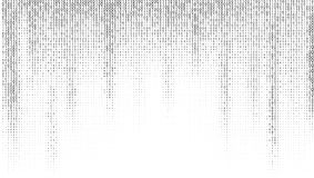 Gradient Binary Code Digits Background. EPS10 Vector Royalty Free Stock Photo