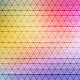 Gradient blue color and triangle polygon pattern background () Stock Image