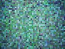 Gradient blue and green colored mosaic tiles. Gradient blue and green colored mosaic background tiles Royalty Free Stock Photos
