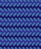 Gradient blue rhombus background Royalty Free Stock Photography