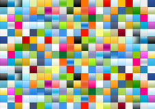 Gradient boxes. A cool gradient boxes background Royalty Free Stock Photo