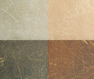 Gradient brown leather texture Royalty Free Stock Photos
