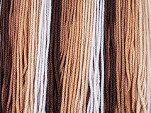 Gradient brown rope Royalty Free Stock Photography