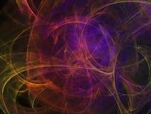 Gradient coloré d'accélération de mode de fusée de puissance abstraite de fractale Illustration Stock