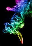 Gradient color smoke abstract Stock Photography