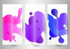 Gradient colorful background vector illustration
