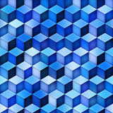 Gradient Cubes Tiling. Seamless Multicolor Pattern. Gradient Cubes Tiling. Abstract Geometric Background Design. Seamless Multicolor Pattern Stock Photography