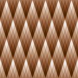 Gradient Diamond Pattern royalty free illustration