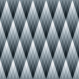 Gradient Diamond Pattern. Abstract diamond repeat pattern, can be tiled seamlessly stock illustration