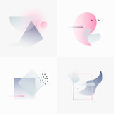 Gradient Geometry Forms 07 Royalty Free Stock Photo