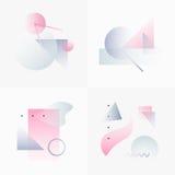 Gradient Geometry Forms 04 Stock Image