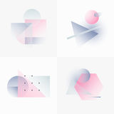 Gradient Geometry Forms 10 Royalty Free Stock Photography