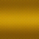 Gradient Golden color Perforated metal sheet Stock Photo