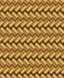 Gradient golden rhombus background Stock Image