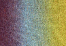 Gradient knitted background Stock Photo
