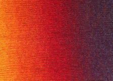 Gradient knitted background Royalty Free Stock Images
