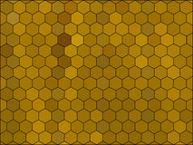 Gradient low poly hexagon style vector mosaic. Background Royalty Free Stock Photo