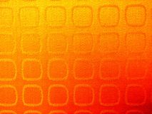 Gradient Orange Background Texture with Square Pattern Stock Photography